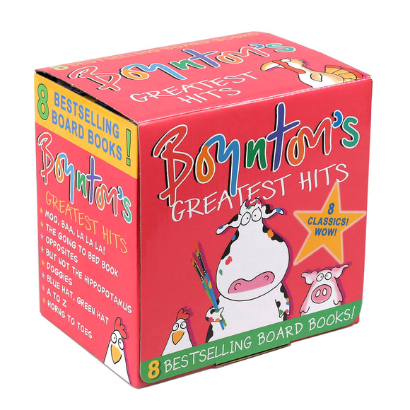 Boynton's Greatest Hits: 8 Board Book Box Set by Sandra Boynton
