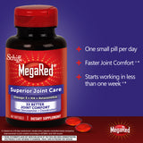 Schiff MegaRed Superior Joint Care, 60 Softgels