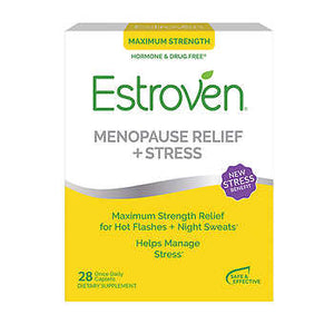 Estroven Maximum Strength + Energy, 60 Caplets