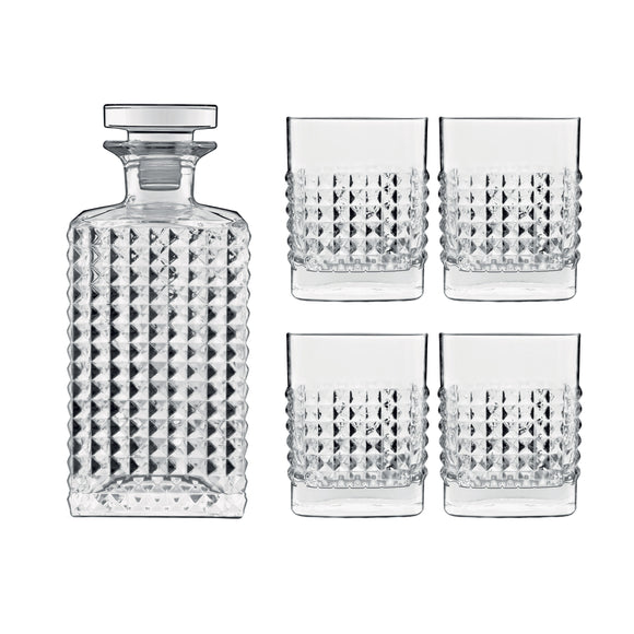 Luigi Bormioli Mixology Elixir 5-piece Whisky Set