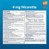 Nicorette Quit Smoking Aid 2mg. or 4mg., Original Flavor Gum 200 Pieces