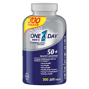 One A Day Men's 50+ Multivitamin, 300 Tablets