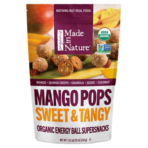 2 Pack Made in Nature Organic Mango Pops 20 oz each.