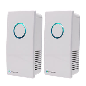 "GermGuardian 7"" UV-C Pluggable Air Sanitizer & Odor Reducer, 2-pack"