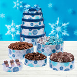 Dilettante Chocolates Winter Wonderland Tower