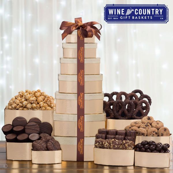 Rocky Mountain Chocolate Factory 7 Tier Holiday Tower