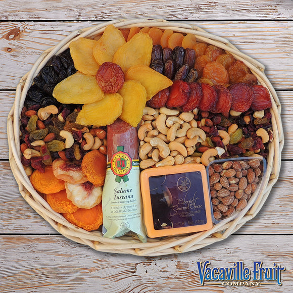 62 oz. Dried Fruit & Nut Basket