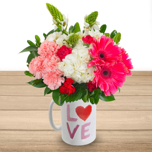 The Heart Floral Arrangement