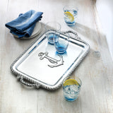 Wilton Armetale Nautical Handled Serving Tray