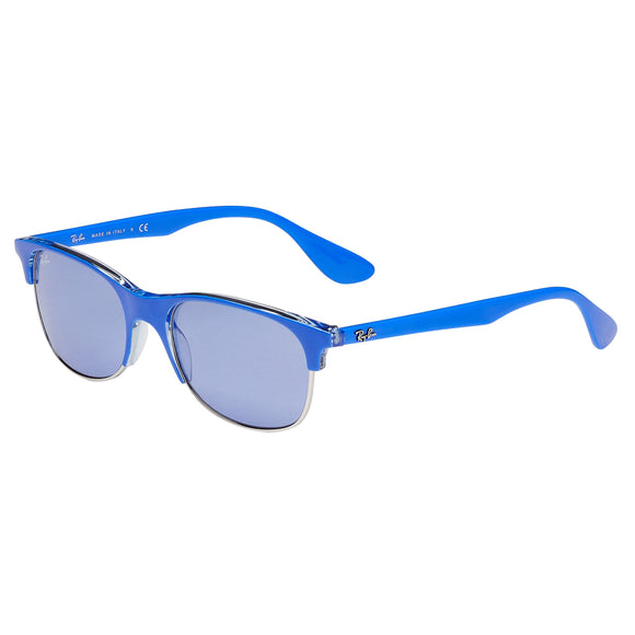 Ray-Ban RB4319 Blue Transparent Sunglasses