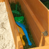 Exaco Maxi Sandbox with Protective Canopy