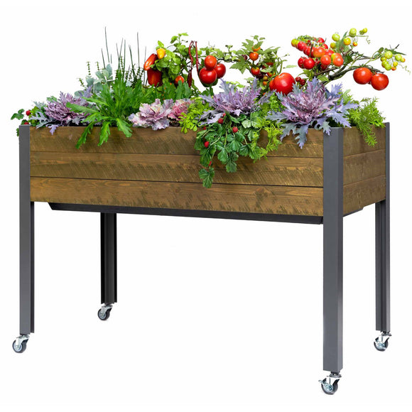 CedarCraft Self-Watering Elevated Spruce Planter