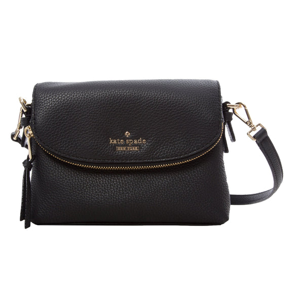 Kate Spade Harlyn Jackson Street Shoulder Bag, Black