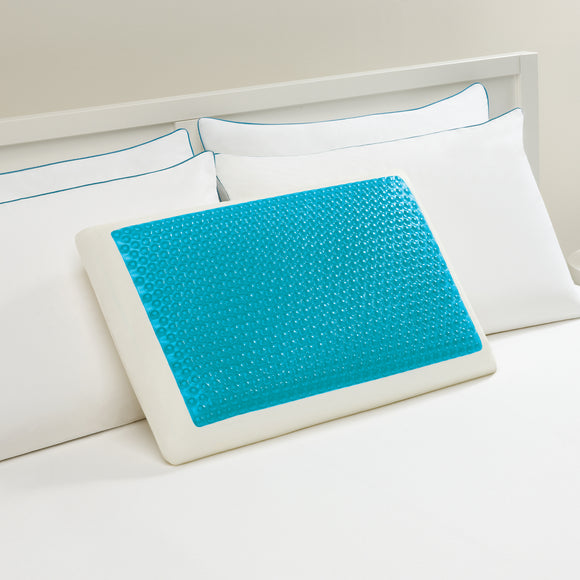 Comfort Revolution Hydraluxe Gel Memory Foam Bed Pillow