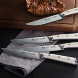 Cangshan S1 Series 4-piece German Steel Forged Steak Knife Set