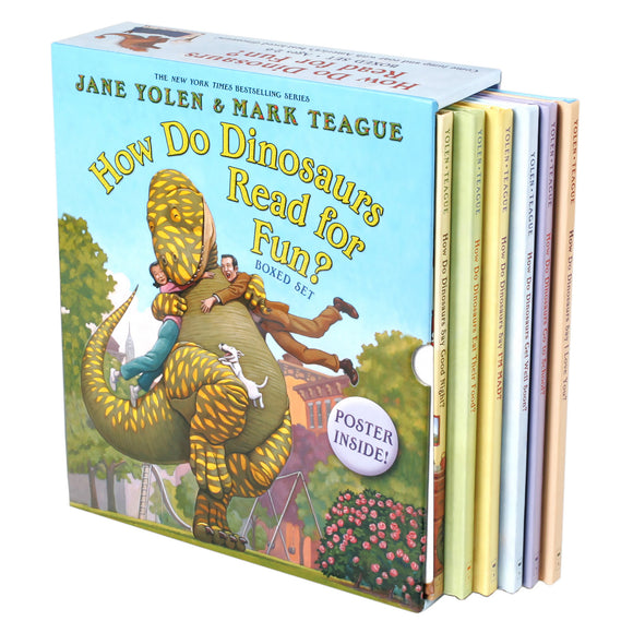 How Do Dinosaurs Read For Fun: 6 Picture Book Box Set