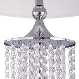 Bianca Crystal Table Lamp With LED Nightlight
