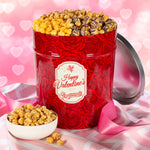 Popcornopolis 3.5 Gallon Valentine's Day Popcorn Party Tin
