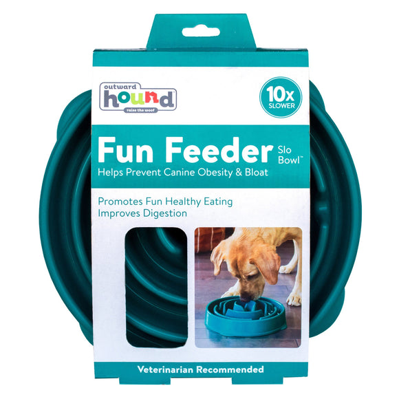 Fun Feeder Slow Feed Bowl, 2-pack