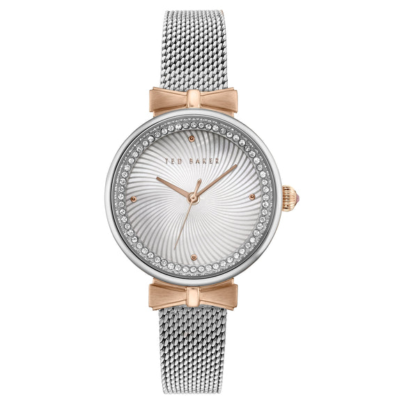 Ted Baker Two-Tone Mesh Ladies Watch