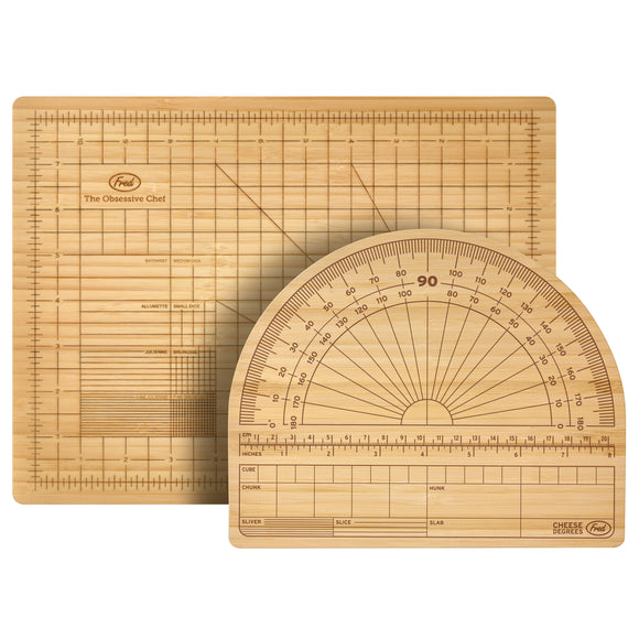 Fred 2-Piece Bamboo Serving & Entertaining Boards