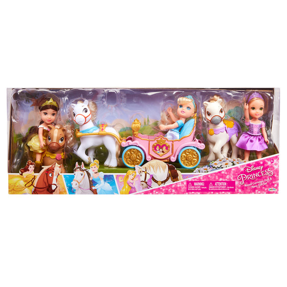Disney Princess Royal Carriage, Doll, & Pony Gift Set