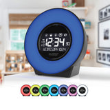 La Crosse Mood Light LCD Alarm Clock with Nature Sounds
