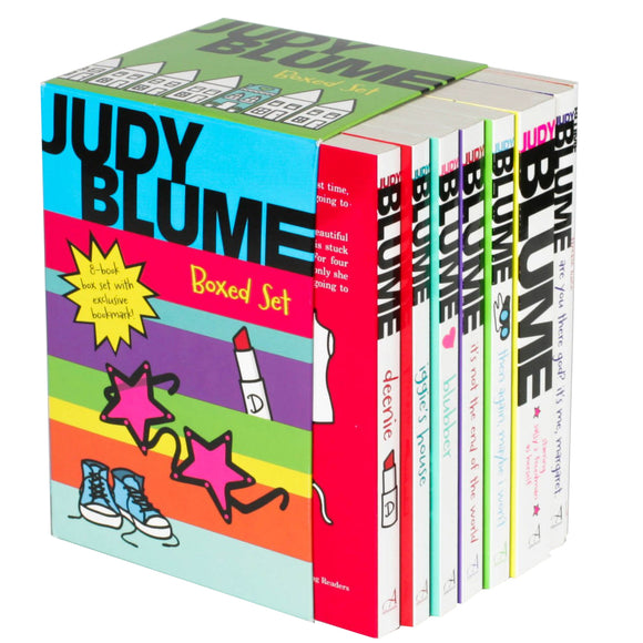 Judy Blume: 8 Book Box Set