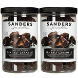 Sanders Milk Chocolate Sea Salt Caramels 36 oz, 2-pack