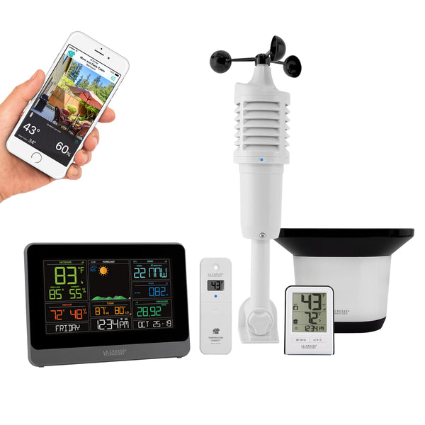 La Crosse 5-in-1 Professional Wireless Weather Station