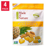 Made In Nature Organic Pineapple 16 oz, 4-pack