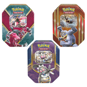 Pokémon Tin 3-pack Collector's Edition Purple Pack