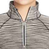 Kirkland Signature Ladies' 1/4 Mock Neck Zip Up Pullover