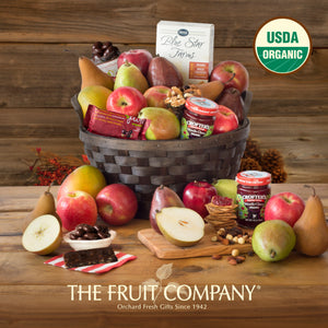 The Fruit Company Organic Fruit Jubilee Gift Basket