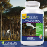 trunature Pycnogenol 100 mg., 60 Vegetarian Capsules
