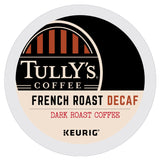 Tully's, French Roast Decaf, K-Cup Pods, 96ct