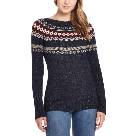 Weatherproof Vintage Ladies' Fairisle Sweater