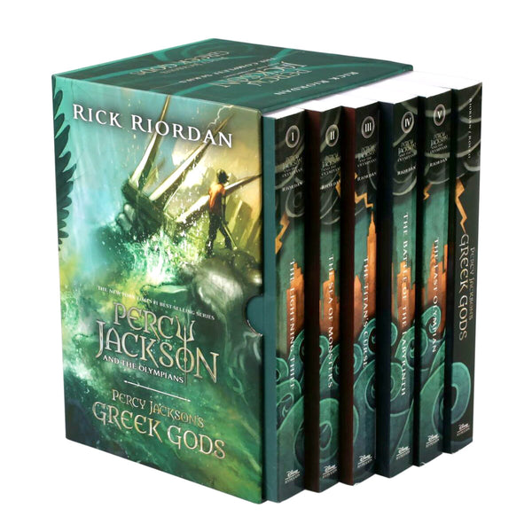 Percy Jackson: 6 Book Box Set