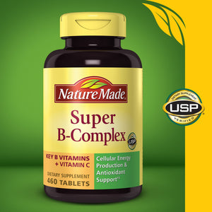 Nature Made Super B-Complex, 460 Tablets
