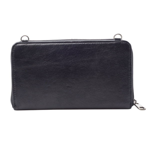 The Sak 3-In-1 Leather Phone Wallet, Black – LittleMore 5a75997ed3