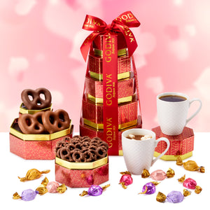 Godiva Dreamy Valentine's Day Tower
