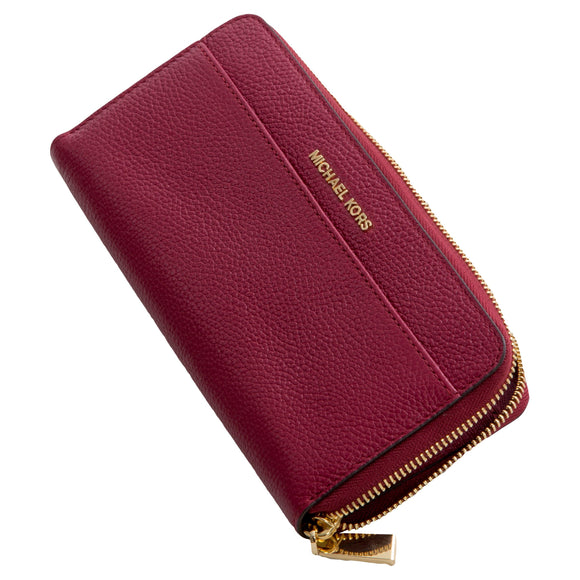 Michael Kors Pocket Continental Wallet, Mulberry