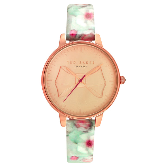 Ted Baker Rose Gold-Tone Case Ladies Watch