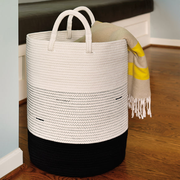 Mesa Cotton Rope Hamper