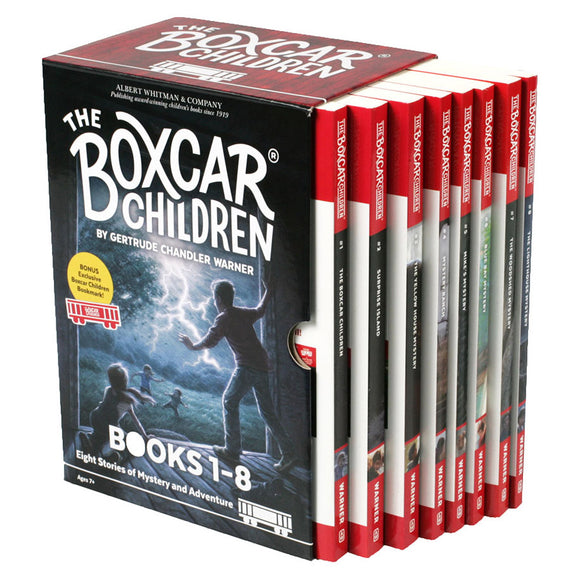 The Boxcar Children: 8 Book Box Set by Gertrude Chandler Warner