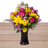 Birthday Celebration Floral Arrangement
