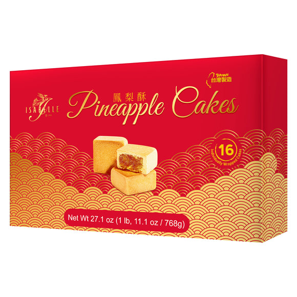 Isabelle Pineapple Cakes 27.1 oz, 3-count