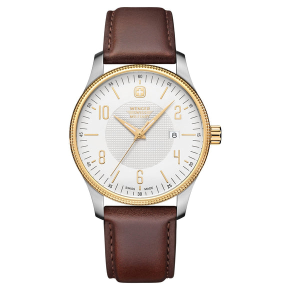 Wenger Swiss Military Telegraph Two-Tone Men's Watch