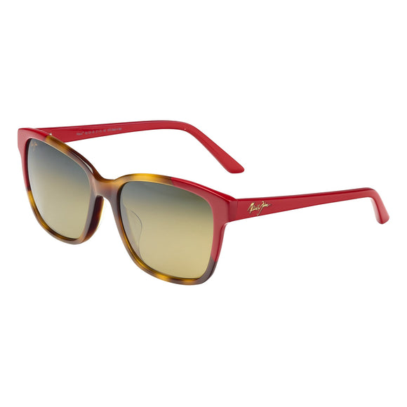 Maui Jim Moonbow HS726-66 Tortoise with Red Polarized Sunglasses