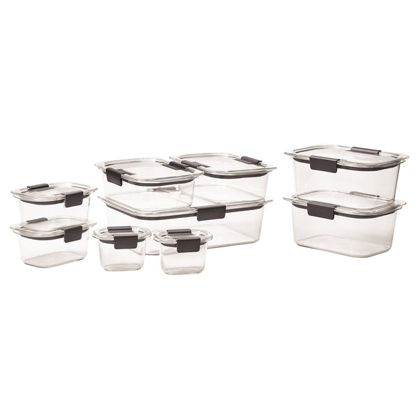 Rubbermaid Brilliance 18-piece Food Storage Set